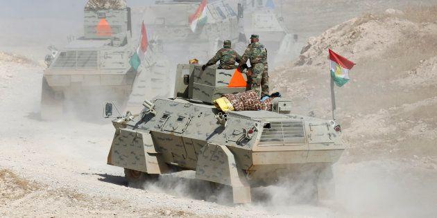 La bataille de Mossoul, à laquelle participent notamment les combattants kurdes irakiens, risque de