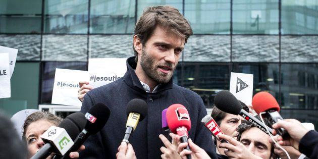 Antoine Genton est l'ex-président de la société des journalistes de la chaîne d'info du groupe