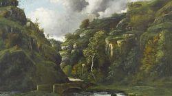 Un tableau inédit de Gustave Courbet a refait