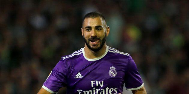 Karim Benzema lors de Betis Séville-Real Madrid le 15 octobre