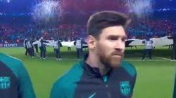 Le détail qui a surpris Messi juste avant