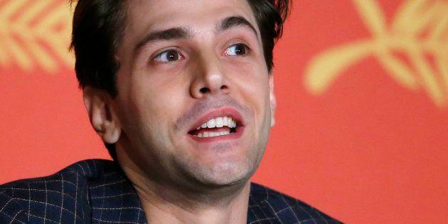 Xavier Dolan au festival de Cannes le 19 mai