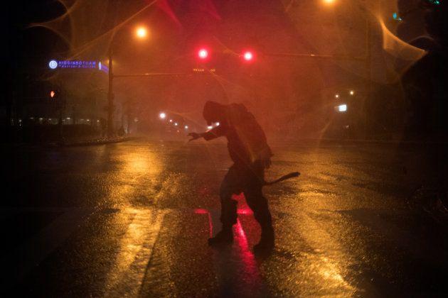 Ouragan Harvey: les premières images impressionnantes au
