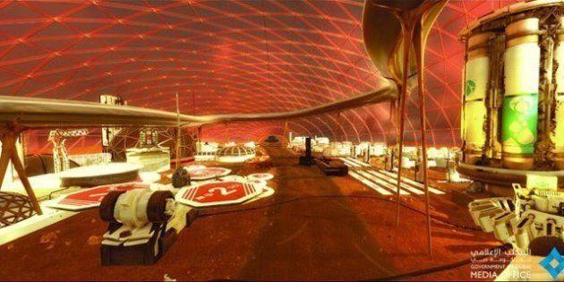 Les Emirats arabes unis veulent créer une ville sur Mars d'ici 100
