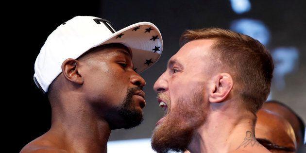 Mayweather vs McGregor: l'Irlandais a commencé son combat dès la