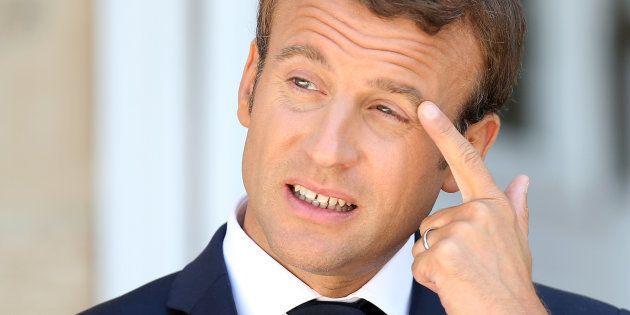 La cote de popularité de Macron continue sa