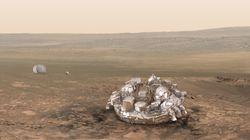 L'atterrisseur Schiaparelli de l'ESA devrait s'être posé sur Mars, mais le robot est pour l'instant