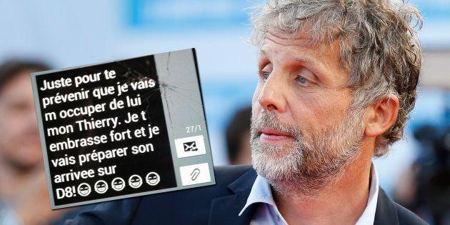Stéphane Guillon publie un SMS vengeur de Cyril Hanouna envoyé à