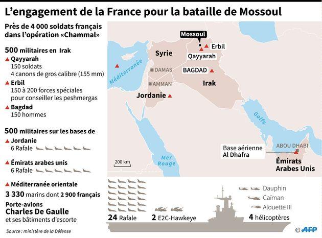 Soldats, Rafale, canons... les moyens déployés par la France dans la bataille de