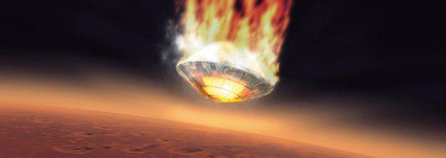 Comment l'ESA imaginait l'atterrissage de Beagle