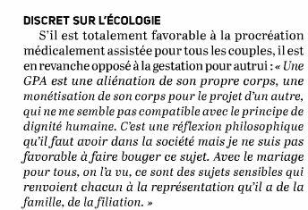 Macron s'engage à légaliser la PMA pour les couples de