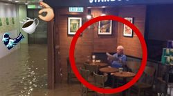 Les énormes inondations à Hong Kong n'auront pas perturbé ce vieux
