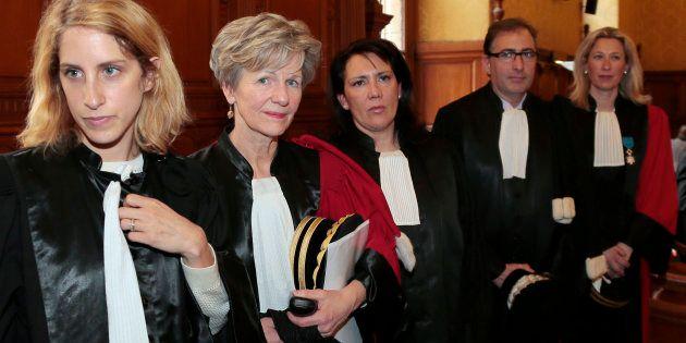 Le Parquet National Financier: de gauche à droite, la magistrate Ariane Amson (aujourd'hui conseillère...