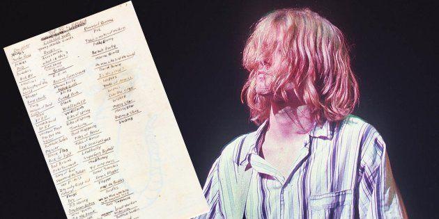 La liste des 50 albums préférés de Kurt Cobain, qui aurait eu 50 ans ce lundi 20
