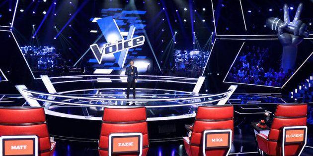 THE VOICE SAISON 6: BATTLE A L'IMAGE: Nikos Aliagas OK