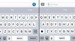 Ce clavier caché de l'iPhone serait bien pratique... si on pouvait