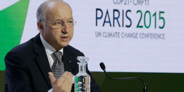 Laurent Fabius, président de la COP21 en