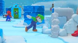 Le frère de Mario, Luigi, se met au