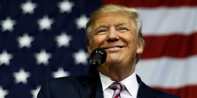 Donald Trump lors d'un meeting dans l'Ohio, le 20 octobre 2016. REUTERS/Jonathan