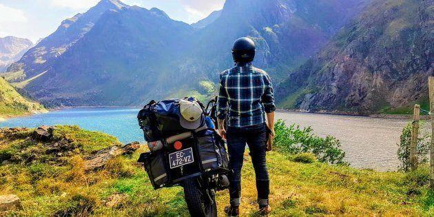 J'ai tout quitté pour un roadtrip a moto, et ma vie à changé en