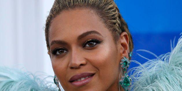 La chanteuse Beyoncé lors des MTV Video Music Awards, le 28 août 2016. (Image