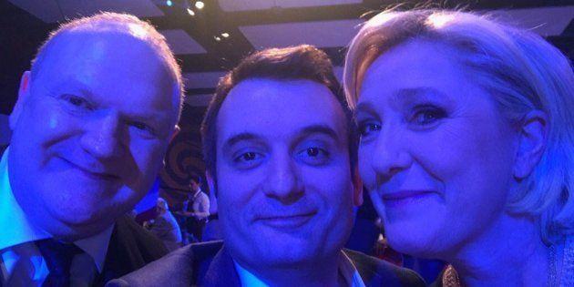 Le comédien Franck de Lapersonne investi candidat FN aux élections