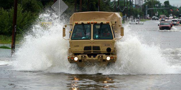 Harvey pourrait faire partie des 5 tempêtes les plus coûteuses jamais enregistrées aux