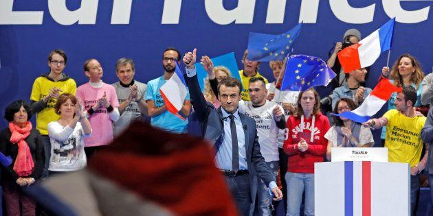 Chez Emmanuel Macron, le flou est devenu un