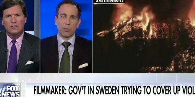 Où est-ce que Trump a vu que la Suède était à feu et à sang? Dans