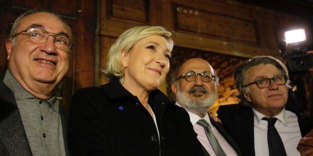 Marine Le Pen à Byblos au Liban le 19 février