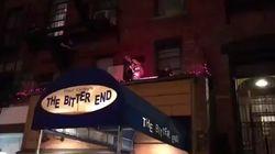 Lady Gaga improvise un concert sur le toit d'un restaurant à