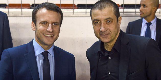 Emmanuel Macron a assisté à un match de rugby avec Mourad