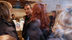 Nikos Aliagas et quelques privilégiés ont pu goûter le popcorn de Scarlett Johansson à