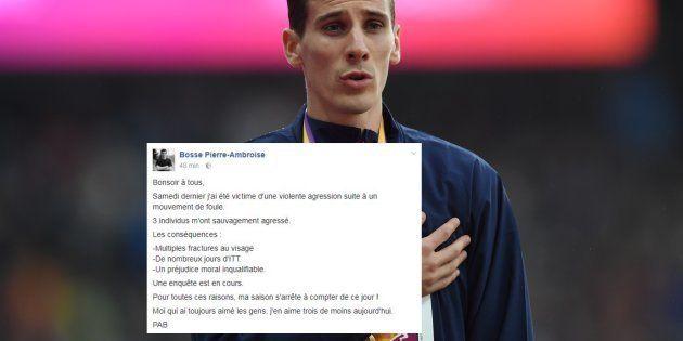 Pierre-Ambroise Bosse arrête sa saison après avoir