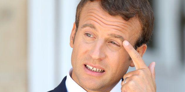 Emmanuel Macron a accordé une longue interview