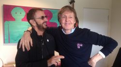Ringo Starr et Paul Mccartney réunis en