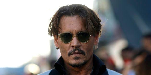 Johnny Depp à Los Angeles le 18 mai