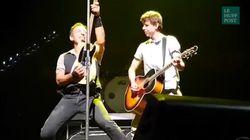 Ce garçon sèche l'école pour voir Bruce Springsteen... et finit sur scène avec