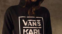 Karl Lagerfeld et Vans signent une collaboration