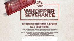 Aux États-Unis, Burger King offre un Whopper à ceux qui annoncent publiquement leur