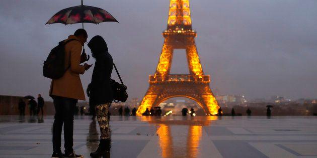Une photo de la Tour Eiffel prise le 12 janvier