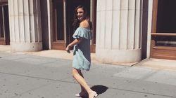 Cette robe Zara est tellement partout qu'on lui a ouvert un