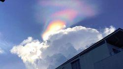 Un arc-en-ciel rarissime observé au-dessus de