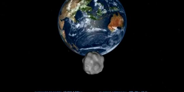 Le plus gros astéroïde depuis plus d'un siècle frôler la Terre ce vendredi 1er