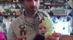 La preuve éclatante en vidéo que bébé préfère les objets du quotidien aux