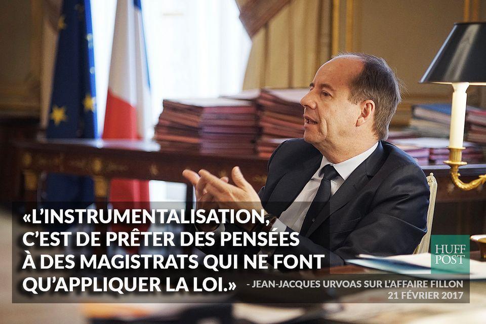 Affaire Fillon: le ministre de la Justice Jean-Jacques Urvoas défend l'indépendance du parquet [INTERVIEW