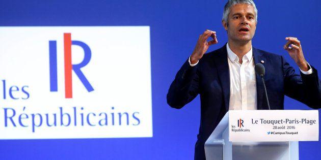 Laurent Wauquiez a officialisé sa candidature pour prendre la tête des Républicains. (Image