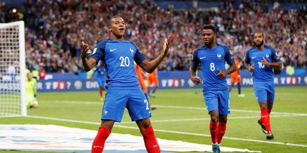 Kylian Mbappé a inscrit son premier but en bleu contre les Pays-Bas le 31 août