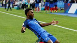 Thomas Lemar inscrit un but magnifique lors de France -