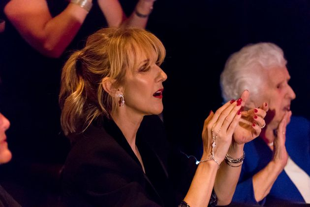 Céline Dion opte pour une frange